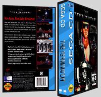 3the Terminator - Sega Cd Reproduction Art Dvd Case No Game