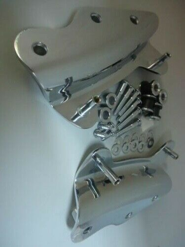 Chrome Harley Davidson 4 Point Docking Hardware touring ultra limited electra HD