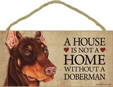 WEIMEILD Dogs Gather Here 5 x 10 Wood Plaque Sign