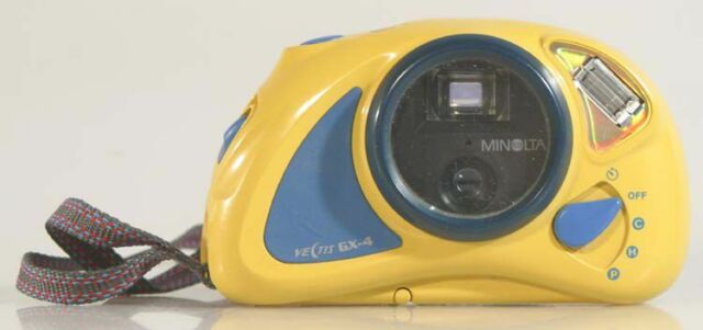 MINOLTA VECTIS GX-4 UNDERWATER APS POINT AND SHOOT CAMERA