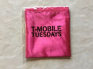 Details about New T Mobile Tuesday's Superhero Halloween Cape Shiny Pink  Glow in the Dark Ink