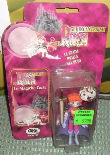 SPILLA//PINS gashapon FIGURE 1995 MANGA//ANIME FANTASY SLAYERS-RINA LINA INVERSE
