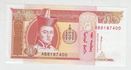 Banknotes P 53 Wholesale MONGOLIA 1993 5 Tugrik AB Prefix Bundle 100pcs UNC