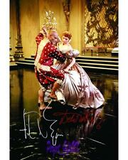 THE KING AND I DEBORAH KERR & YUL BRYNNER SIGNED 10X8 REPRO PHOTO PRINT