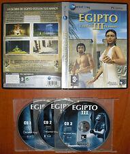 Egipto III / 3: El destino de Ransés [PC CD-ROM] Versión Española en Castellano