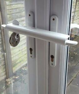 SECONDS White Patio Door Security French Door Security Patio Door ...