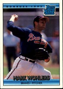 Details About 1992 Donruss Baseball Pick Card From List