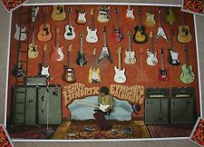 JIMI HENDRIX EXPERIENCE art poster print silkscreen MAX DALTON