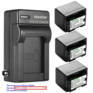 Kastar-Battery-AC-Wall-Charger-for-BP-727-amp-Canon-VIXIA-HF-R800-HFR800-Camera