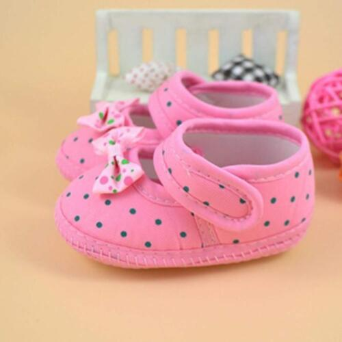 Cute Toddler Baby Girls First Walker Shoes Bowknot Boots Shoes Soft Crib Shoes
