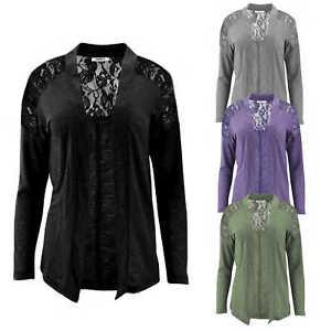 competitive price ca6b6 fc390 Details zu ONLY Damen Strickjacke Jacke onlMAYSE L/S LACE CARDIGAN offen  dünn Spitze NEU