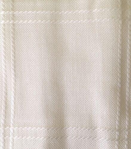 BIANCO 18 CT ZWEIGART Anne Panno Tessuto Afgano META /'DEL PANNELLO 72 x 115 cm
