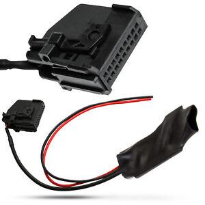 Bluetooth-AUX-IN-Adapter-Kabel-18pol-Stecker-fuer-Mercedes-Benz-Comand-2-0-APS