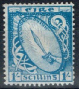 Irlande-1923-1s-Bleu-Clair-SG82-Fin-MTD-Excellent-Etat