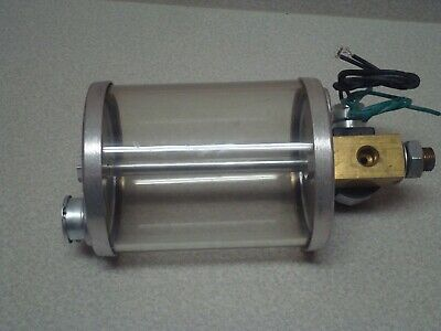 "NEW LUBE DEVICES LUBRICATOR 120 VAC COIL ORIFICE .203/"" 40 PSI 727-1"