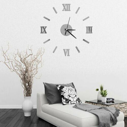FGameless 3D Horloge murale style Chambre bricolage Accueil Décor Modèle 7Z