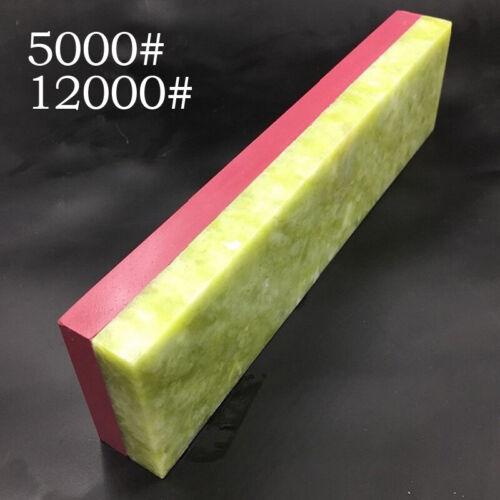 1PC Anti-Slip Dual-Whetstone Sharpener Double Sided Sharpening Water Wet Stone