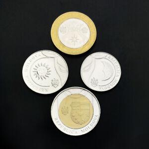 Moldova-Set-4-Coins-1-2-5-10-Lei-2018-UNC
