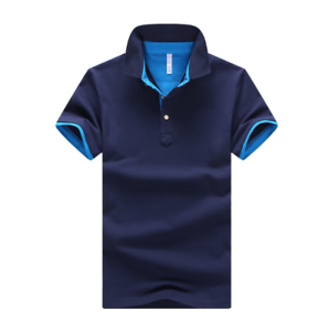 Men-039-s-Fashion-Slim-Short-Sleeve-Shirt-T-shirt-Casual-Tops-Blouse-Tee-Shirts-Men