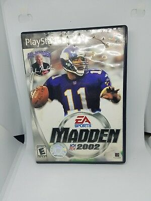 Video Games & Consoles Collection Here Madden Nfl 2002 Ps2 Replacement Case Only Up-To-Date Styling