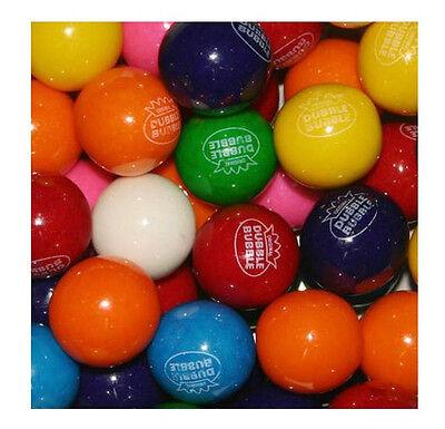"""Dubble Bubble ASSORTED Gumballs Bulk 1"""" 24mm 4lbs Approx 220pcs Gum Balls"""