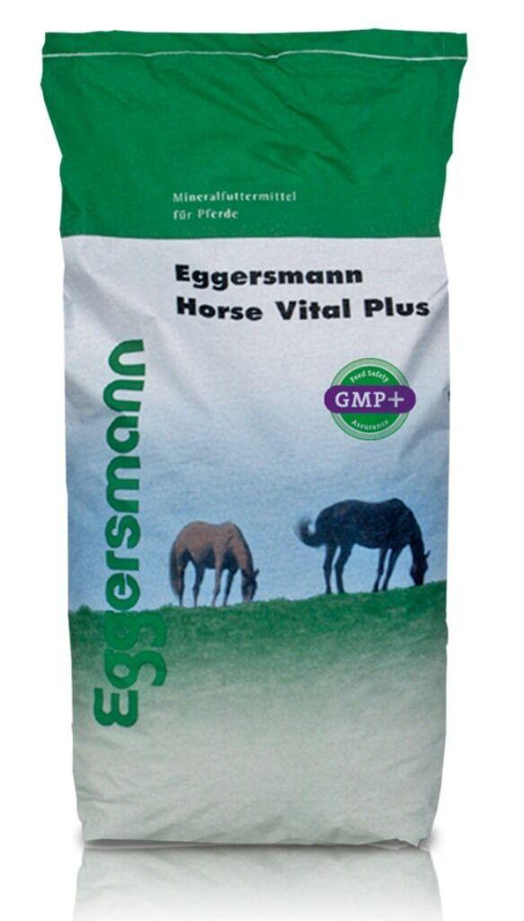 Eggersmann Horse Horse Eggersmann Vital Plus 25kg, hoch vitaminiertes Mineralfutter für Pferde 8471a9