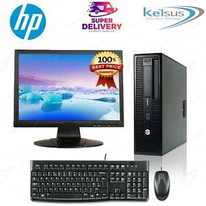 Cheap Fast Desktop Pc Computer Monitor Screen Windows 10 Bundle Windows 7 Ebay