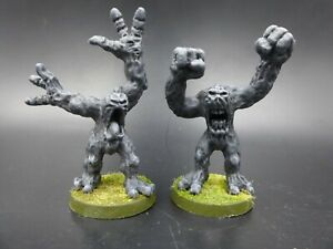 Crucible-Clay-Golems-2-painted-Ral-Partha-metal-28mm-D-amp-D-GM77