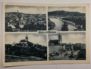 512-Antica-Cartolina-Linz-A-D-Donau