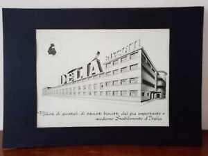 Pubblicita-originale-DELTA-anni-039-50-rifilatura-da-rivista-in-passepartout