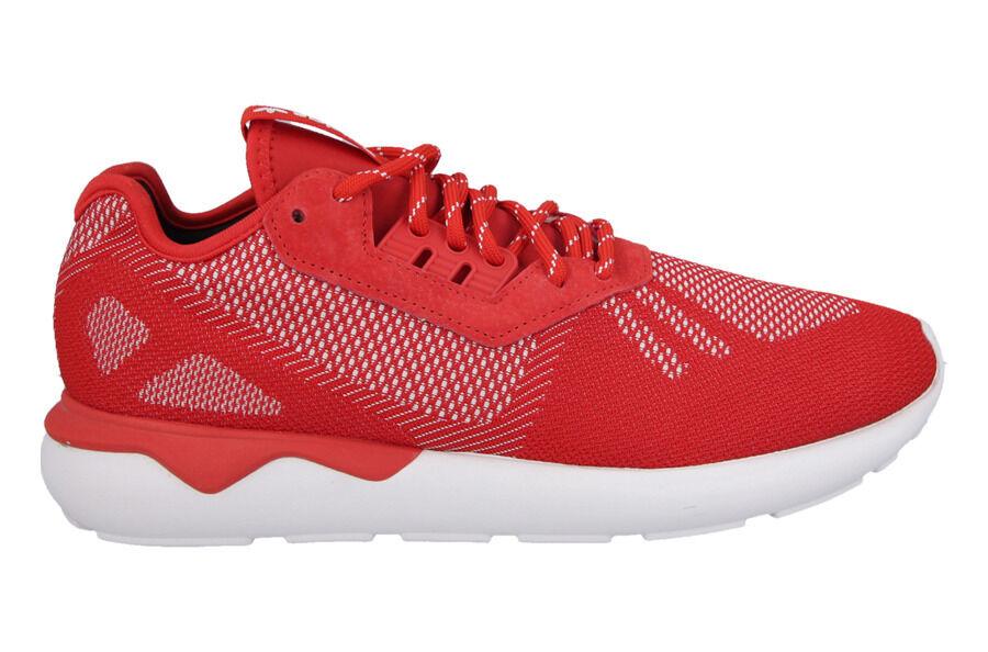 Adidas Originals Tubular Coureur Tissé Homme Baskets Chaussures Rouges B25597