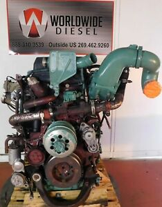 2007-Volvo-D16-Diesel-Engine-500-HP-Complete-Turns-360-For-Rebuild-Only