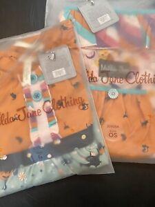 NIB Girls MATILDA JANE Wonderment Fa-Boo-Lous Tunic  size 6 W/ Matching Bag
