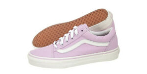 8ae098c2504f7f Image is loading Vans-Old-Skool-Winsome-Orchid-White-VN0003Z6IMB