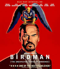 Birdman (Blu-ray/Digital HD, 2015) NEW w/ OOP HTF Gated Slipcover and Red Case