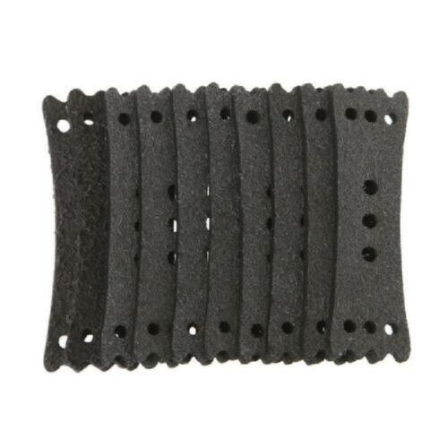 10 Pcs Catapult Microfiber Six Small Leather Bags Slingshot Leather Used Pocket
