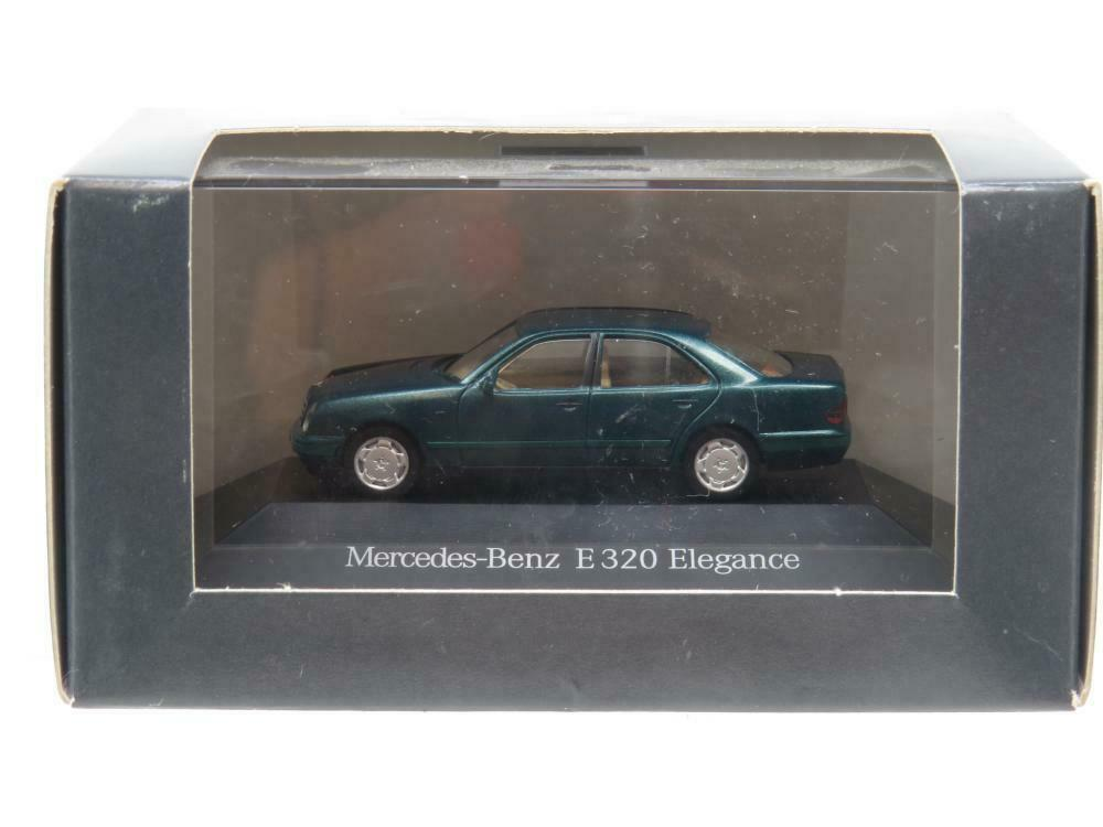 Herpa Modellauto Mercedes Benz E320 Elegance Vert 1 87 Échelle Dealer Modèle