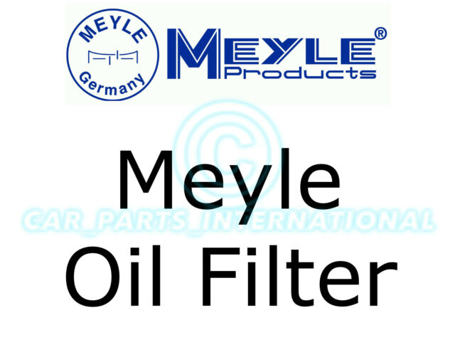 Meyle Oil Filter, Filter Insert with seal 314 322 0003