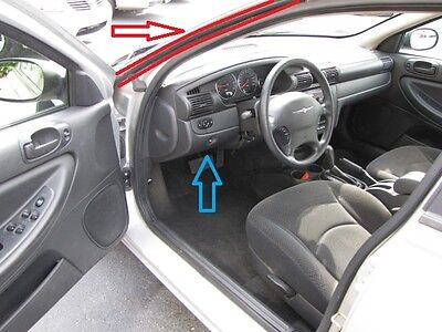 93-97 Dodge Intrepid Chrysler New Yorker /& LHS 4 Door-Pair Rocker Panel