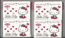 Sanrio Hello Kitty Tissue Printed 4 Packs Hearts
