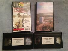 Professional Predator Calling Part 1 & 2 - VHS Video Tape - Hunting -Dennis Kirk
