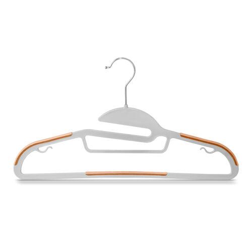 20x Kleiderbügel Antirutsch Garderobenbügel Anzugbügel Platzspar rutschhemmend