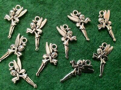 Antique Bronze Tibetan Metal TAWNY OWL HOOP Charms Pendant Beads Crafts Cards