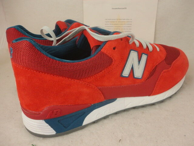 New Balance 496, CM496CPR, CM496CPR, CM496CPR, rojo   gris   azul, 574, Suede   Mesh, Talla 13 18ae9b