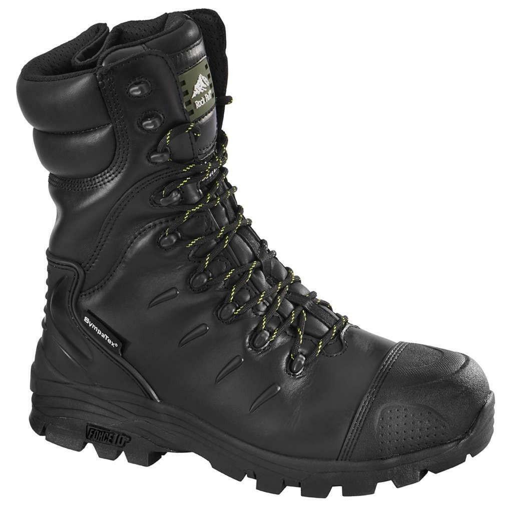 Rock Fall Monzonite Black S3 HRO SRC Composite Toe Cap Waterproof Safety Boots