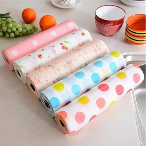 Kitchen Table Mat Dots Shelf Contact Paper Cabinet Drawer Liner Placemat LH