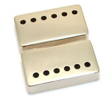 (2) Nickel Covers for Modern Gibson® Humbucker Pickups Wide Bridge PC-0300-W01