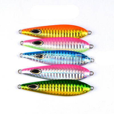 5pcs//pack Micro Metal Jigs Slow lures Deep Water Fishing Lures Jigs Snapper New