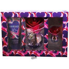 Someday By Justin Bieber Eau de Parfum Spray 3.4 oz & Body Lotion 3.4 oz & eau d
