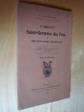 Lacour-Gayet L'Abbaye Saint-Germain des Prés et son monastère bénédictin 1924
